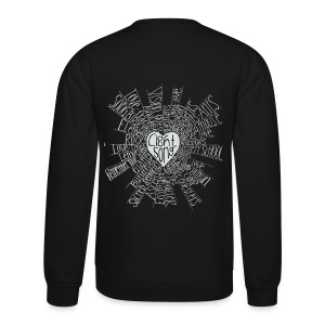 LightSong High Frequency Unisex Crew Sweatshirt - Crewneck Sweatshirt