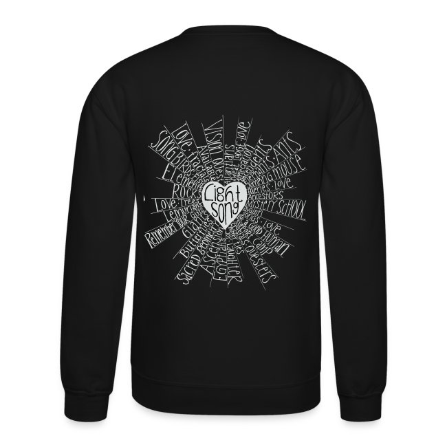 LightSong High Frequency Unisex Crew Sweatshirt