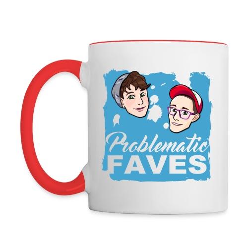 Problematic Faves Mug - Contrast Coffee Mug