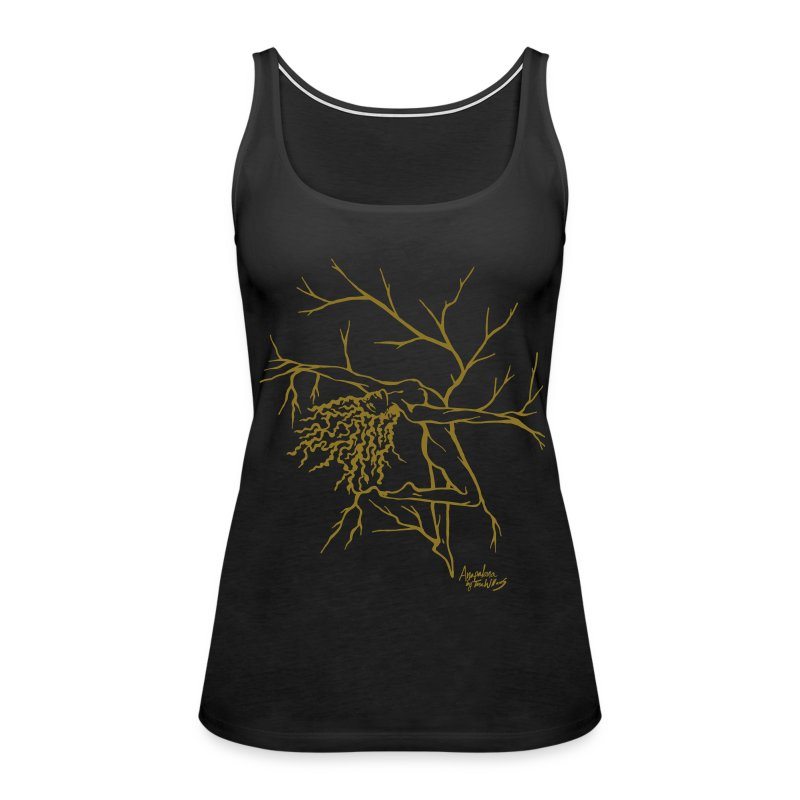 Tree Dancer 2 - Ink - Women's Premium Tank Top