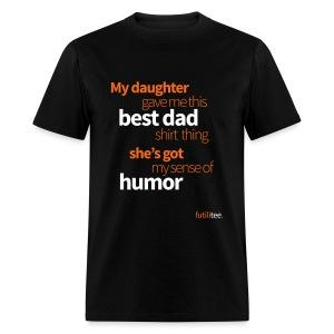 My daughters best dad shirt - Man, standaard - Men's T-Shirt