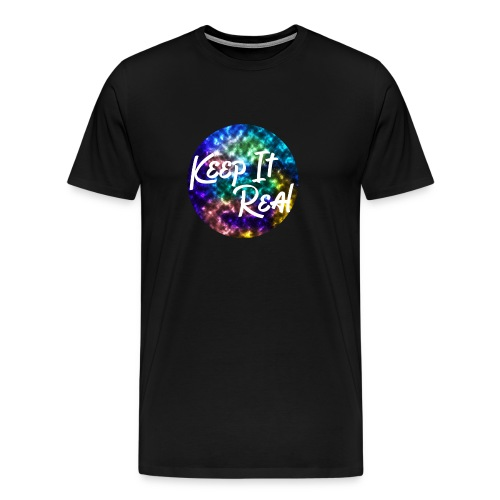 Keep it Real - Galaxy/ Marble - Tee Shirt - Men's Premium T-Shirt