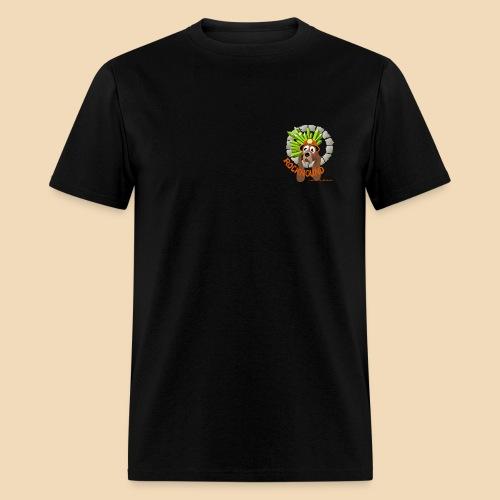 rockhound (left chest) standard mens black T shirt - Men's T-Shirt