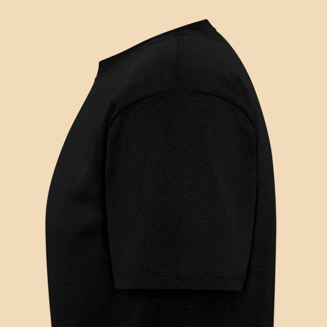 rockhound (left chest) standard mens black T shirt