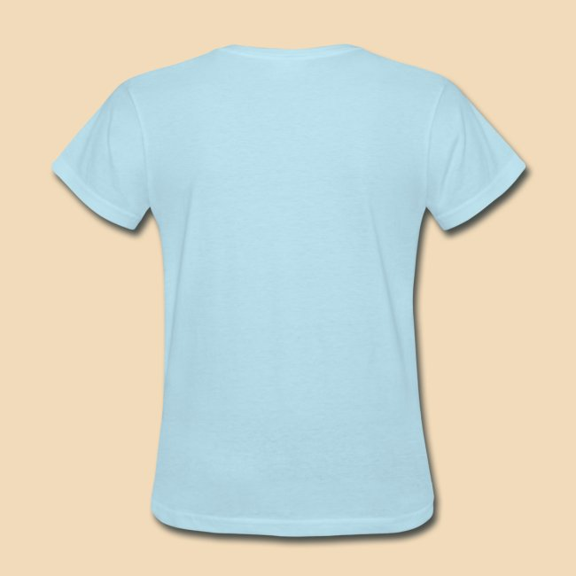 Rockhound Womens standard Light Blue T shirt