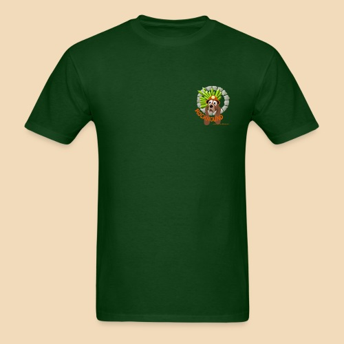 Rockhound Men's Standard Hunter Green T Shirt - Men's T-Shirt