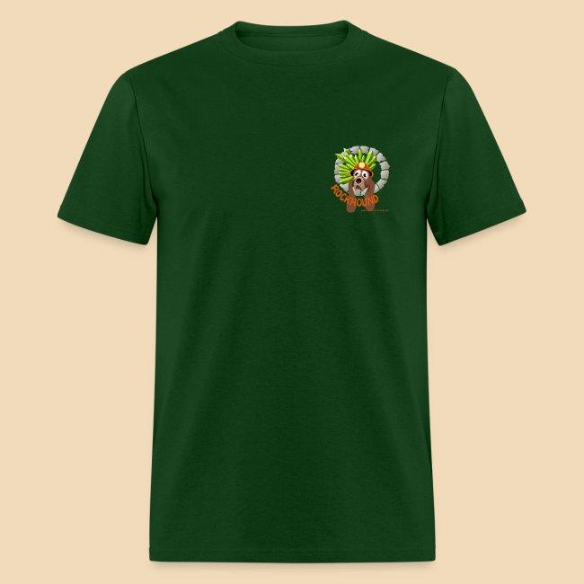 Rockhound Men's Standard Hunter Green T Shirt