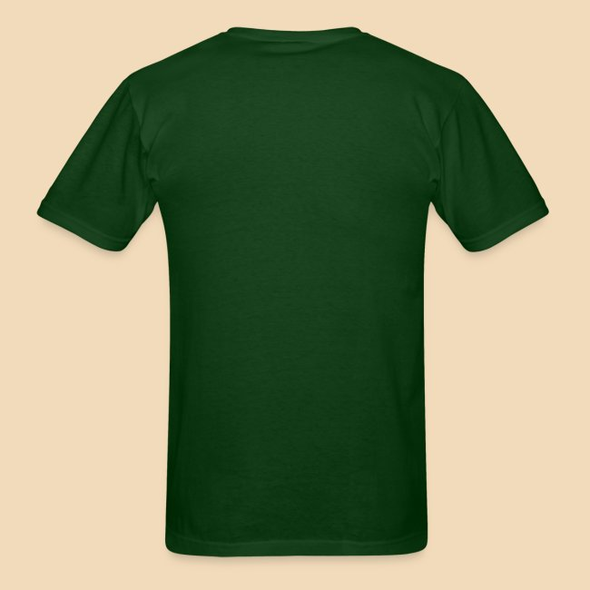 Rockhound Men's Standard Hunter Green T Shirt