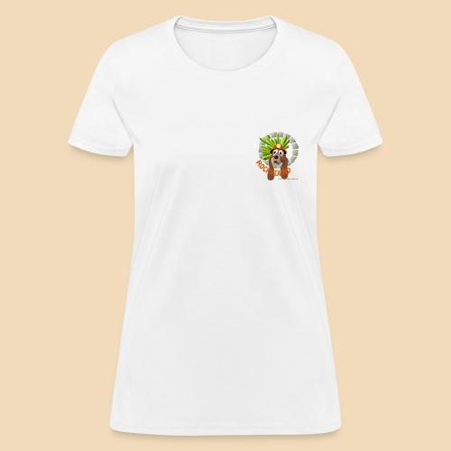 Rockhound Womens standard white Blue T shirt - Women's T-Shirt