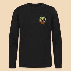 Rockhound Men's Long Sleeve Black T-Shirt by Next Level - Men's Long Sleeve T-Shirt by Next Level