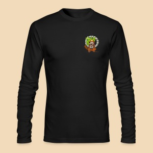 Rockhound Men's Long Sleeve Black T-Shirt by Next Level - Men's Long Sleeve T-Shirt by Next Level