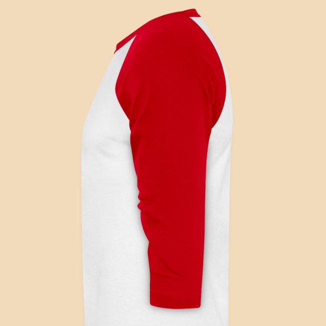 Rockhound Men's Red Baseball T-Shirt