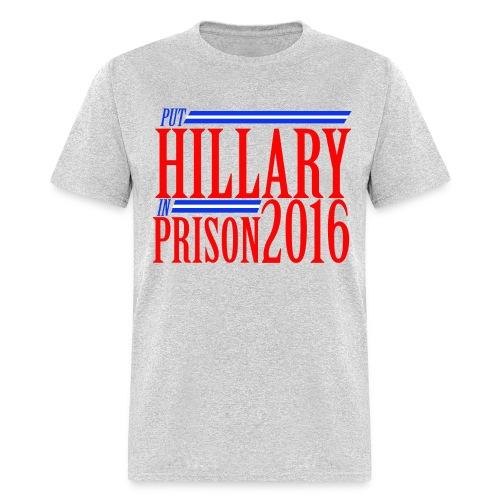 Hillary For Prison 2016 - Men's T-Shirt