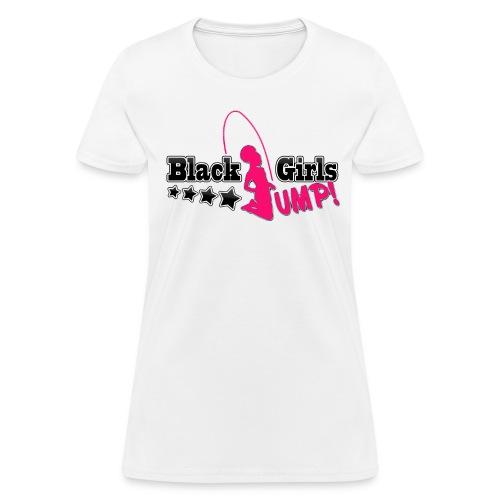 Black Girls Jump Women's T-Shirt - Women's T-Shirt