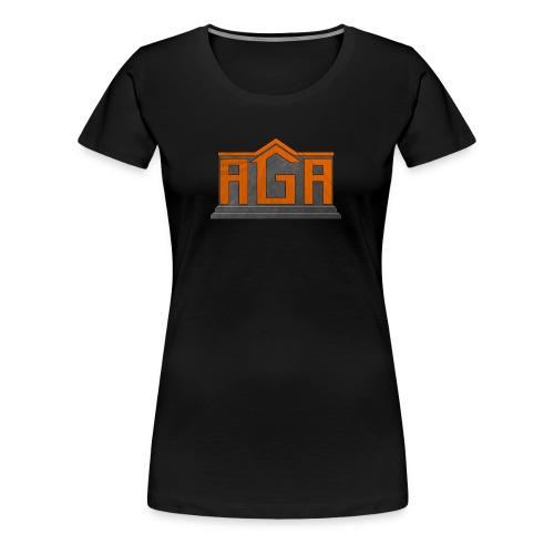 Women's AGA Logo Shirt - Women's Premium T-Shirt