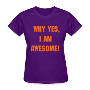 Awesome Purple - Women's T-Shirt