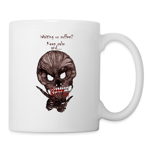Rrrr skull   - Coffee/Tea Mug