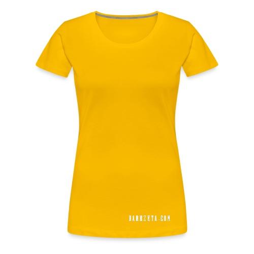 The Trinity of creation (Women's Premium T-Shirt, Yellow) - Women's Premium T-Shirt