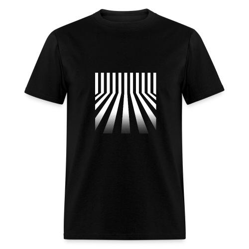 Bars Men's Black Tee - Men's T-Shirt