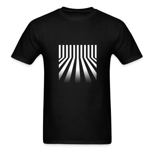 Bars Men's Black Tee - Men's T-Shirt