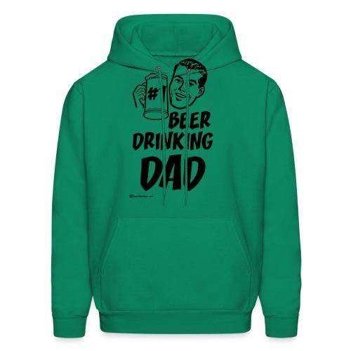 #1 Beer Drinking Dad Men's Hoodie - Men's Hoodie
