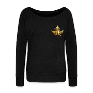 Long Sleeve Shirts ~ Women's Wideneck Sweatshirt ~ Canada Souvenir Sweatshirt Women's Canada Shirts