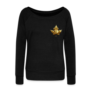 Canada Souvenir Sweatshirt Women's Canada Shirts - Women's Wideneck Sweatshirt