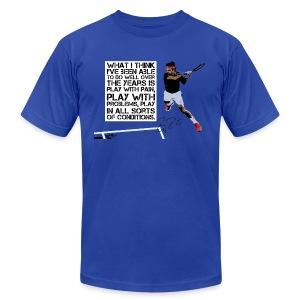 Play Through The Pain - Men's Fine Jersey T-Shirt