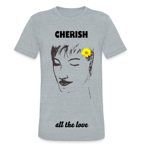 CHERISH All The Love - Unisex Tri-Blend T-Shirt