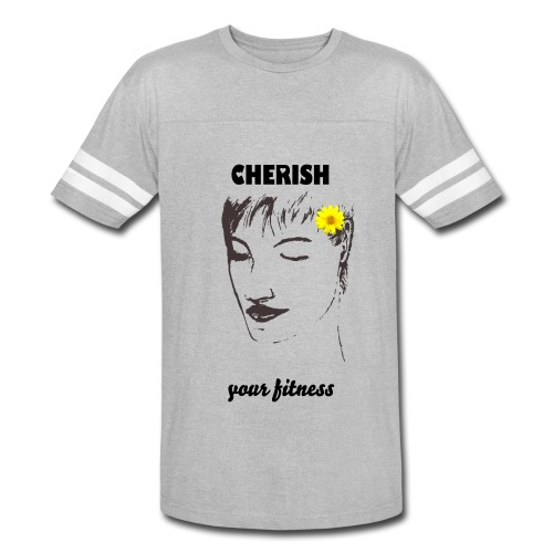 CHERISH Your Fitness - Vintage Sport T-Shirt