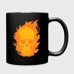 ghost rider skull - Full Color Mug