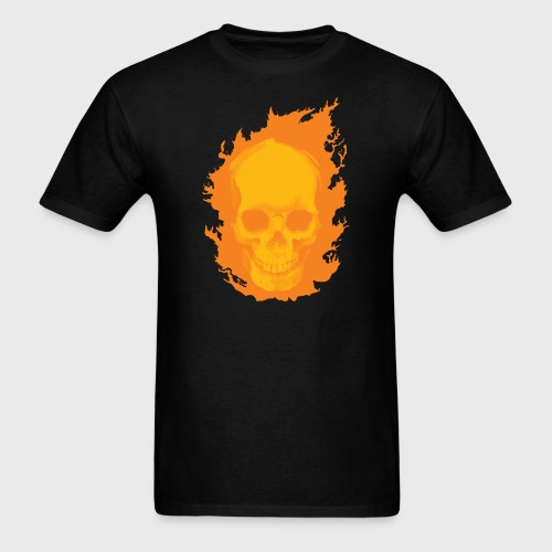 ghost rider skull - Men's T-Shirt