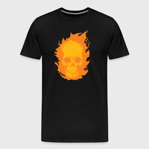 ghost rider skull - Men's Premium T-Shirt