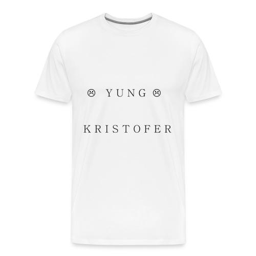 Yung Kristofer Text Shirt - Men's Premium T-Shirt