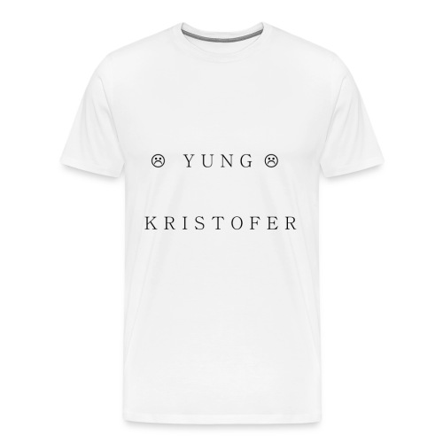 Yung Kristofer Text Shirt - Men's Premium T-Shirt