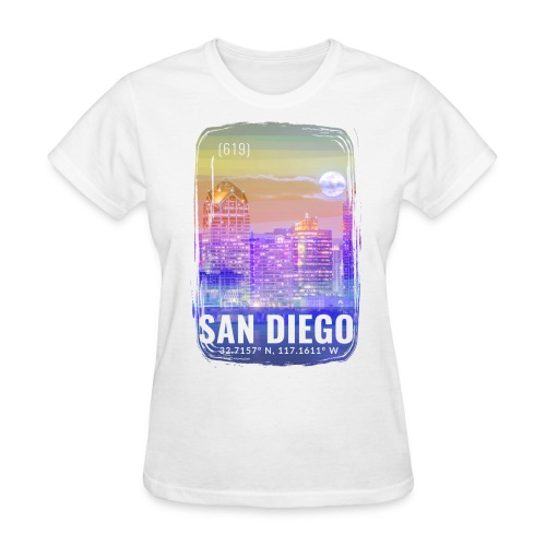 City of San Diego - Women's T-Shirt