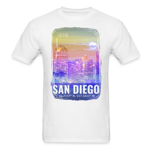 City of San Diego - Men's T-Shirt