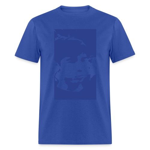 Chris veckt blue - Men's T-Shirt