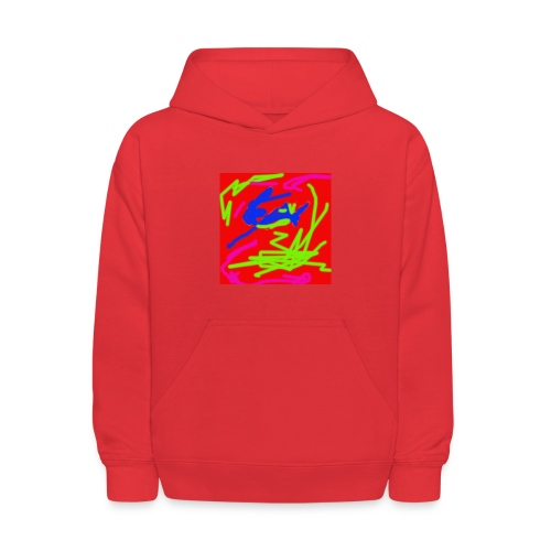 Graffiti Camo shirt - Kids' Hoodie