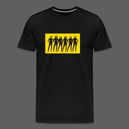 Dark Dolls Yellow - Men's Premium T-Shirt