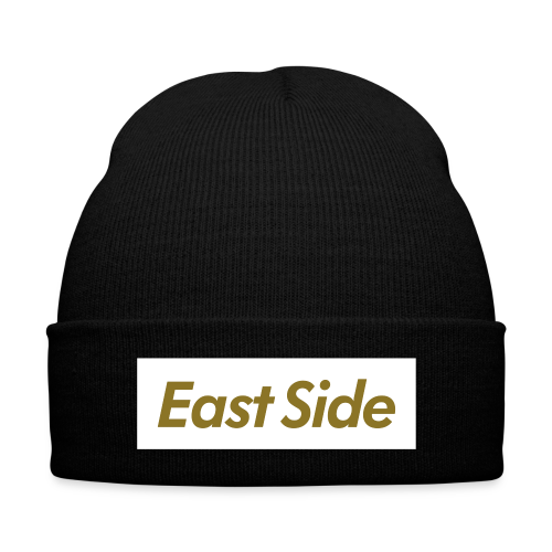 Unisex - East Side Beanie - Knit Cap with Cuff Print