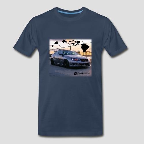 Hawaii Subie - Premium Tshirt - Men's Premium T-Shirt