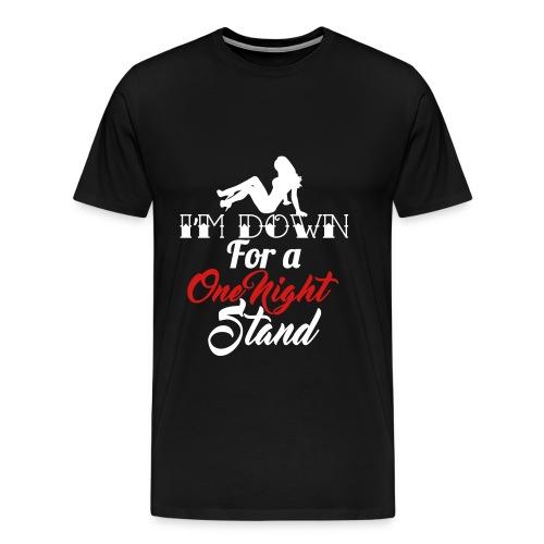 One Night Stand Men's T - Men's Premium T-Shirt
