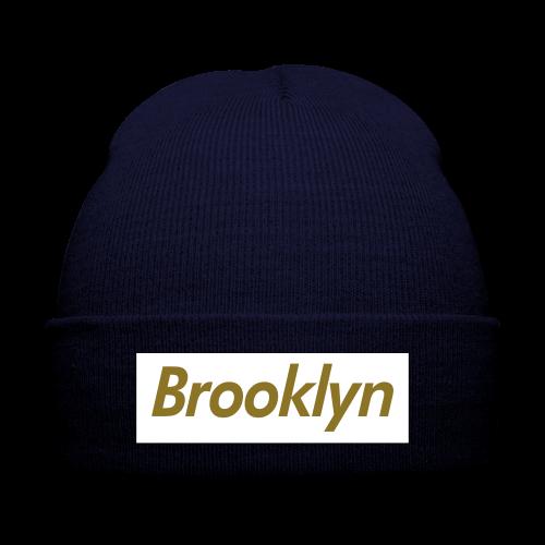 Unisex - Brooklyn Beanie - Knit Cap with Cuff Print