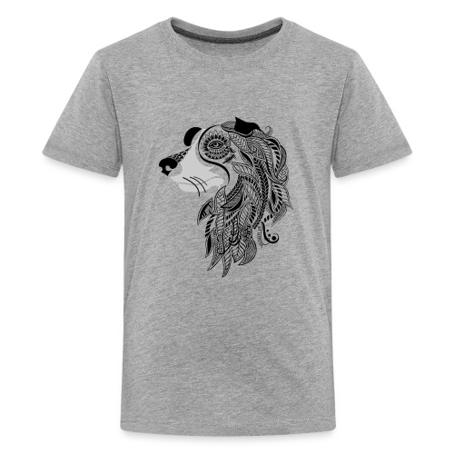 Who Let The Dogs Out - Tribal Puppy Kids Premium T-Shirt from South Seas Tees - Kids' Premium T-Shirt