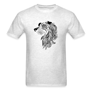 Who Let The Dogs Out - Tribal Puppy Men's T-Shirt from South Seas Tees - Men's T-Shirt