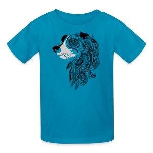 Who Let The Dogs Out - Tribal Puppy Kid's T-Shirt from South Seas Tees - Kids' T-Shirt