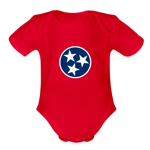 Tennessee   - Organic Short Sleeve Baby Bodysuit