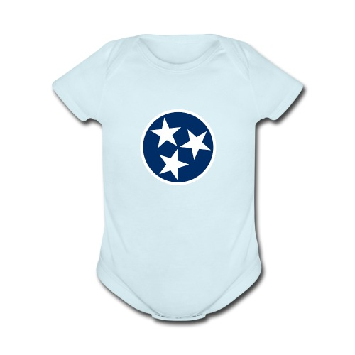 Tennessee   - Organic Short Sleeve Baby Bodysuit