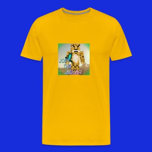 JoeyTheJaguar Men's Shirt - Men's Premium T-Shirt